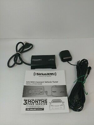 SiriusXM Satellite Radio Replacement Tuner Only SXV300 No Antenna