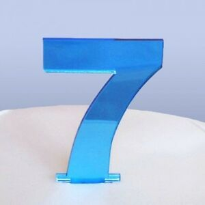 Contemporain-Numero-7-Gateau-Decoration-Disponible-en-un-gamme-de-couleurs