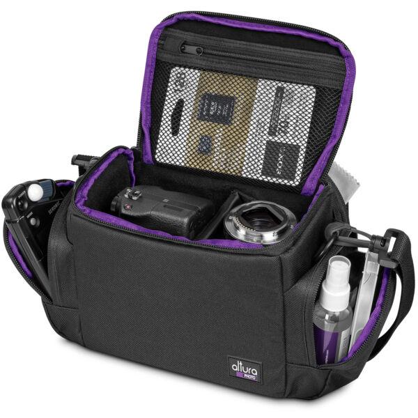 Altura Appareil Photo Étui Sac Pour Dslr Appareil Photo Compacts & Objectif Canon Nikon Sony MatéRiaux De Choix