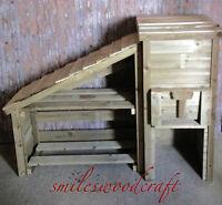 Wooden Coal Bunker And Log Store Bespoke Coal Bunker And Log Store