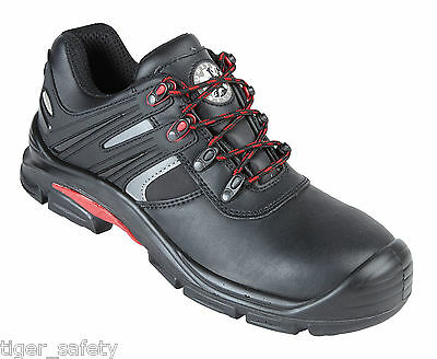 Security Line Tyto 4212 S3 Black Metal Free Composite Toe Cap Safety Trainers