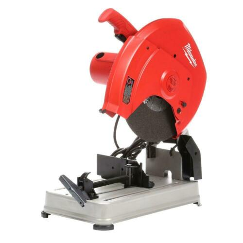 14 in 15 amp abrasive cut-off machinemilwaukee saw chop corded tool motor