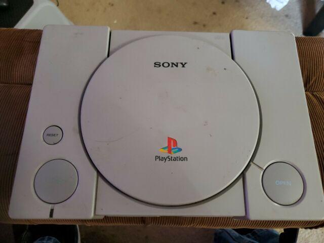 Sony Playstation 1 Launch Edition Konsole-GRAU (SCPH - 7501) Konsole nur keine ACC
