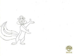 Looney Tunes Pepe Le Pew- Original Production Drawing