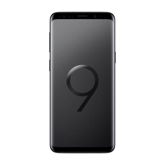 SAMSUNG GALAXY S9 Dual Sim 64Go Noir Débloqué Reconditionné État correct