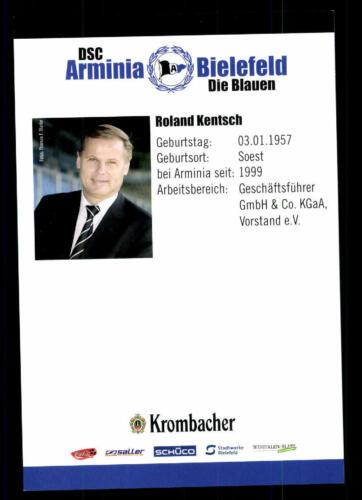 A 93389 Roland Kentsch Autogrammkarte Arminia Bielefeld 2007-08 Original