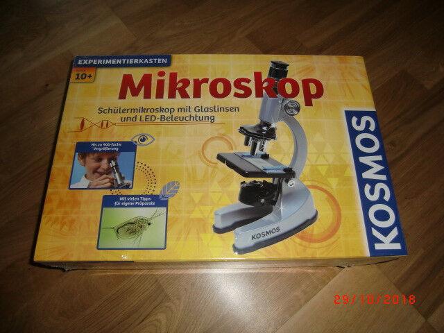 Experimentierkasten kosmos mikroskop 635312 günstig kaufen ebay