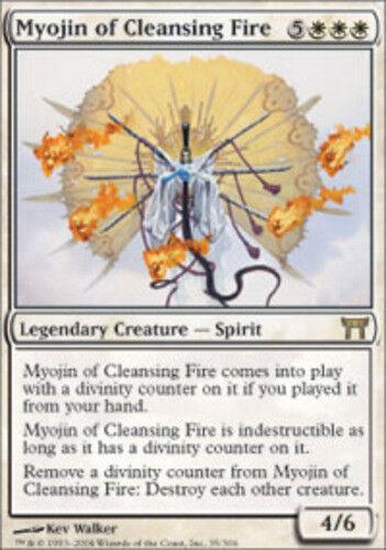 Myojin of Cleansing Fire x1 1x English -BFG Champions of Kamigawa Near Mint