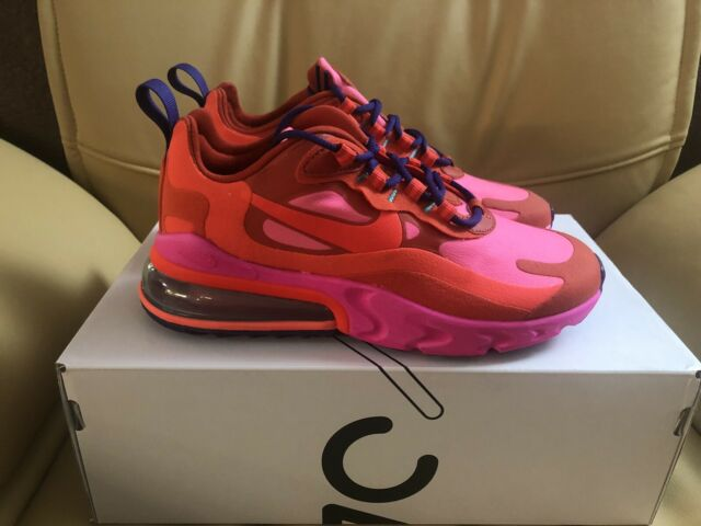 Nike Air Max 270 React Women S Running Shoes At6174 600 Red Size 6 For Sale Online Ebay