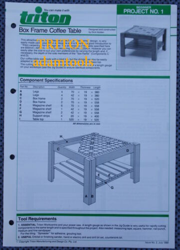 Used Triton Project Beginner level