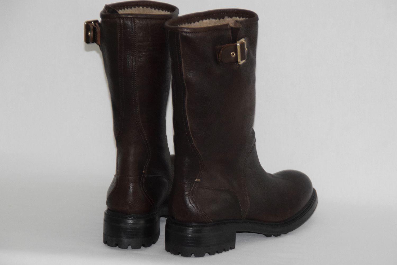 HUGO BOSS ORANGE DAMEN Stiefel Gr. 8,5 38,5 UK 5,5 US 8,5 Gr.    , Dark Braun d3cb73