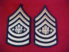 US Army - Sergeant Major of the Army Chevrons Gold/Blue for dress uniform