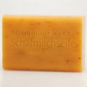 Florex-Schafmilchseife-eckig-RINGELBLUME