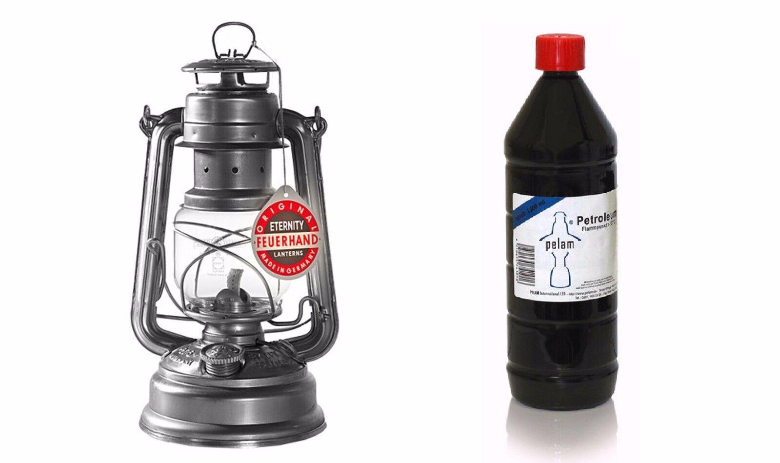 Petroleum FEUERHAND Petromax 4x1L Lampenöl Pelam Starklichtlampen Kocher 4,5//L