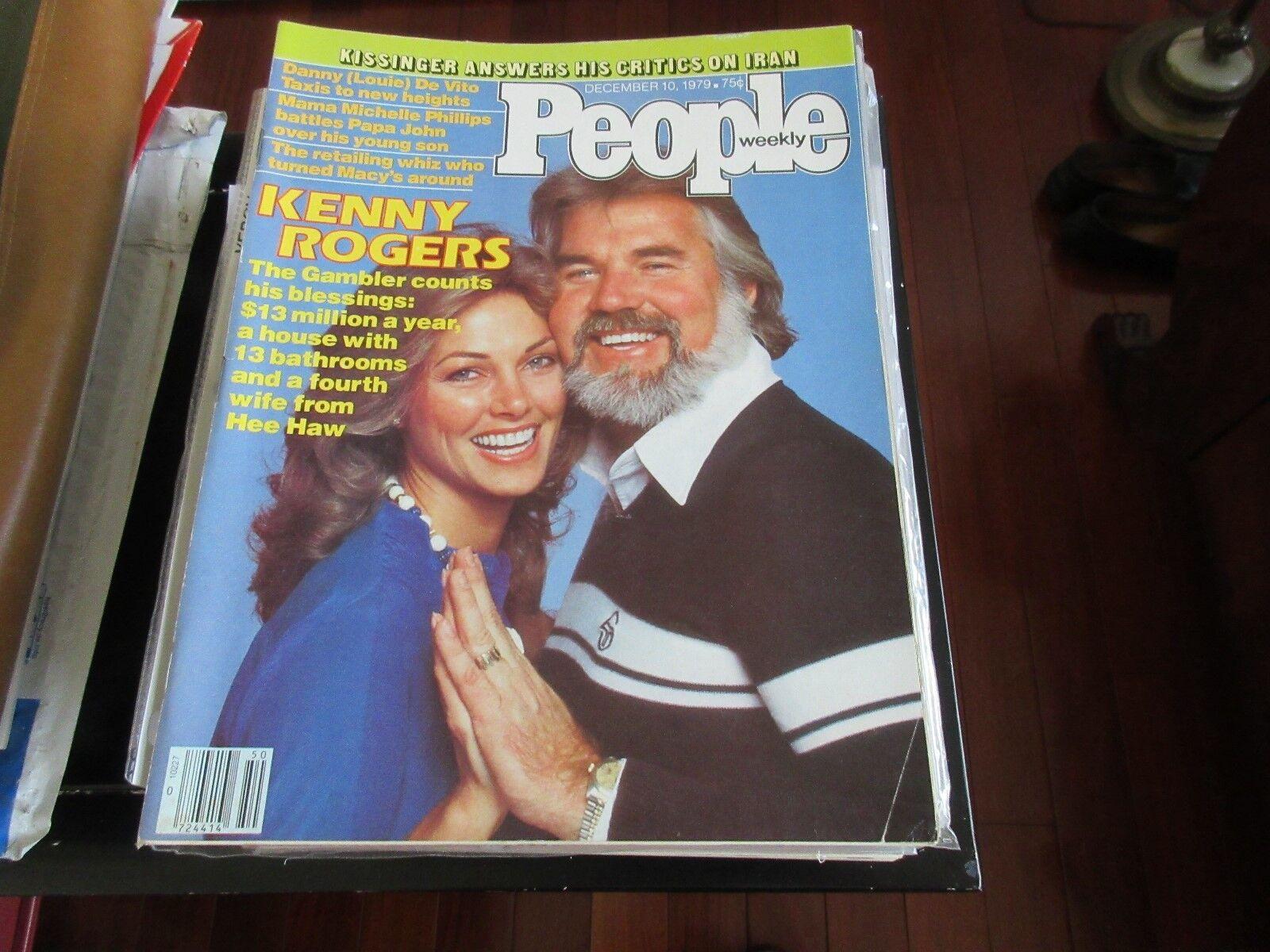 Kenny Rogers , People Magazine , 12/10/79 , Danny DeVit