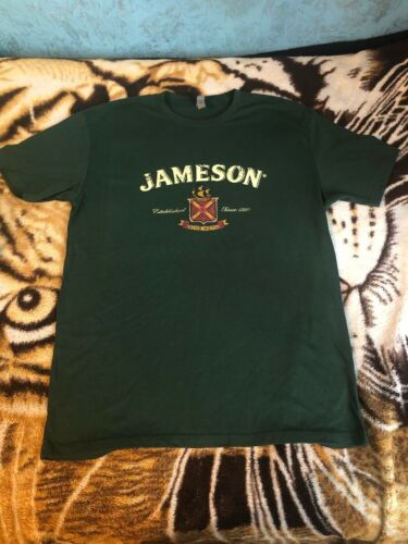 New Without Tag Jameson Irish Whiskey Green T-Shirt Mens Size Large