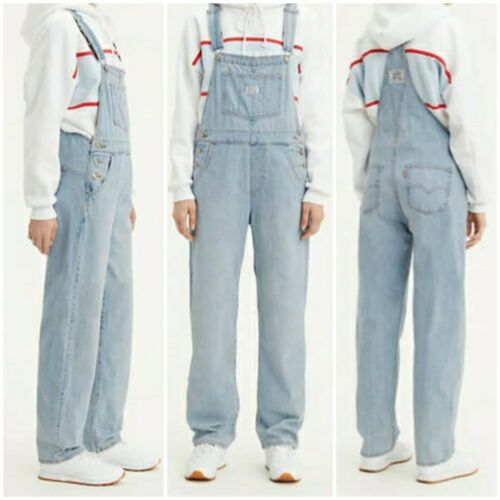 Levi/'s Women/'s Vintage Overalls~Throwback-Medium Wash~Choose Size