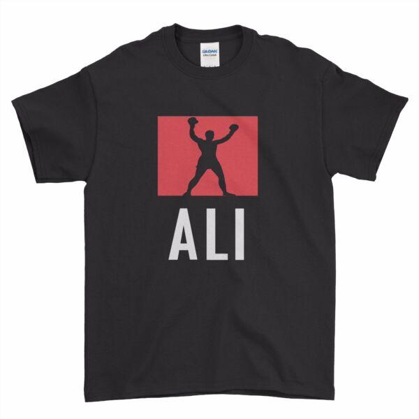 Muhammad Ali Boxe Leggenda Galleggianti Farfalla Ragazzi Uomini T Shirt Top Tee