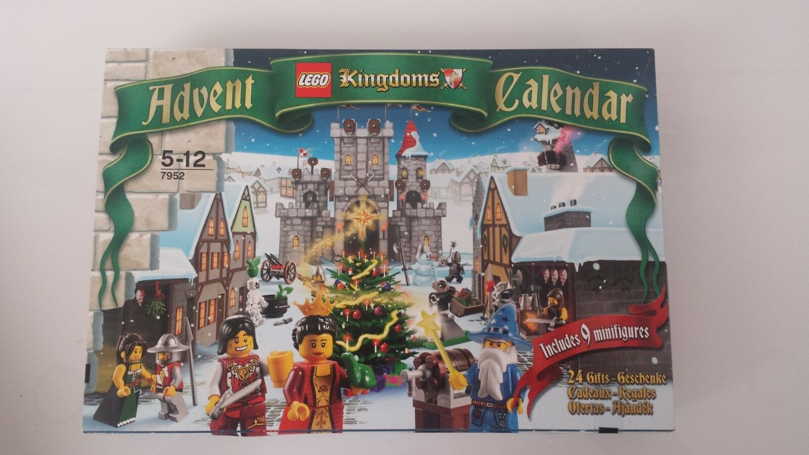 LEGO 7952 KINGDOMS ADVENT CALENDAR CASTELLO