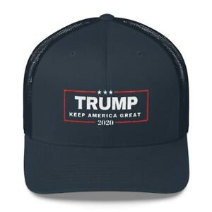 Details about Trump 2020 trucker hat Donald Trump 2020 hat aaee9e53963