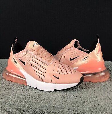 Nike Air Max 270 Peach Pink Women's Sz 7.5 Running Shoes  | eBay