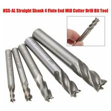 """SWT Cutting Slotting End Mill Router Bit 4 Flute 1//4/"""" Shank 1//4/""""ameter N T8G2"""