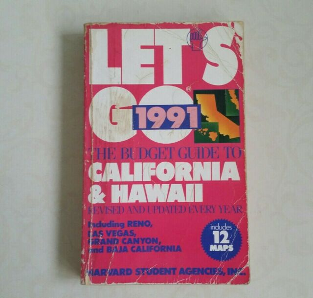 Let's Go, The Budget Guide To California An... by Harvard Student Agen Paperback