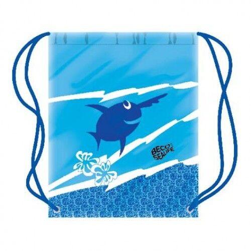 Beco NUOTO Disegnare Stringa SEA LIFE Swim Bag Blu + rosa