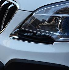 New Chrome Front Light Trim For OPEL VAUXHALL MOKKA BUICK ENCORE 2013 2014 2015