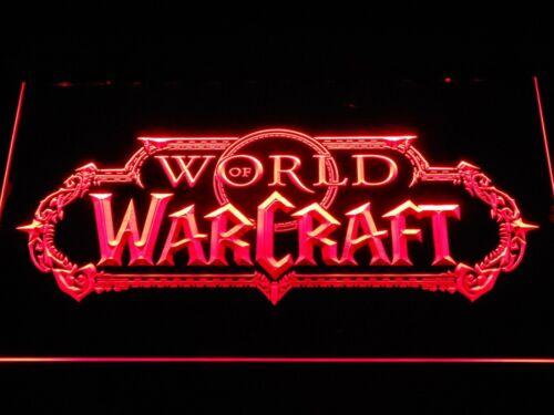 World Of Warcraft Blizzard Leuchtreklame Neonzeichen Leuchtschild Geschenk dekor