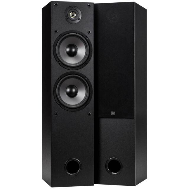 """Dayton Audio T652 Dual 6-1/2"""" 2-Way Tower Speaker Pair"""
