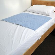 Kylie Waterproof bed set, kylie2, bed pad Blue and waterproof mattress protector