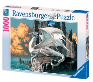 WEISSER DRACHE * WHITE DRAGON - Ravensburger Puzzle 15696 - 1000 Teile Pcs.