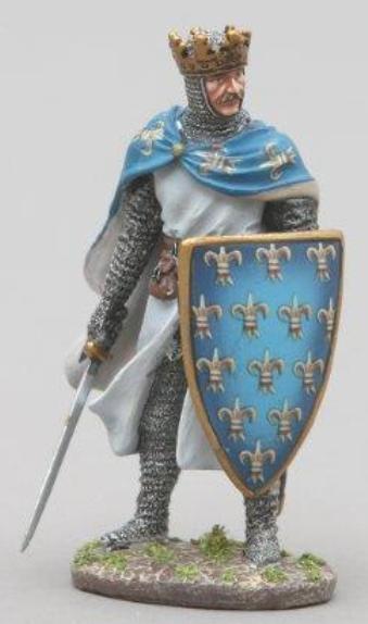 THOMAS GUNN MEDIEVAL KNIGHT MED002 KING PHILIP II OF FRANCE MIB