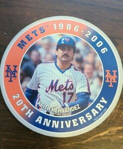 Dunkin Donuts 1986-2006 Keith Hernandez Stats Disc New York Mets