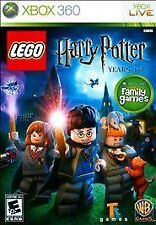 LEGO Harry Potter Years 1-4 RE-SEALED Microsoft Xbox 360 GAME