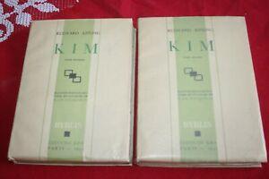 RUDYARD KIPLING  KIM EDITIONS KRA 1931  NUMEROTEE EXPL 1626 SUR VELIN 2 VOLUMES