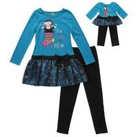 Dollie & Me Matching Doll Outfit Fits American Girl 18 Inch 7 8