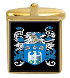 Aldread Ecosse Famille Cimier Nom De Armoiries Or Boutons Manchette Gravé Boîte Wfbmwhd6-07225657-506455646