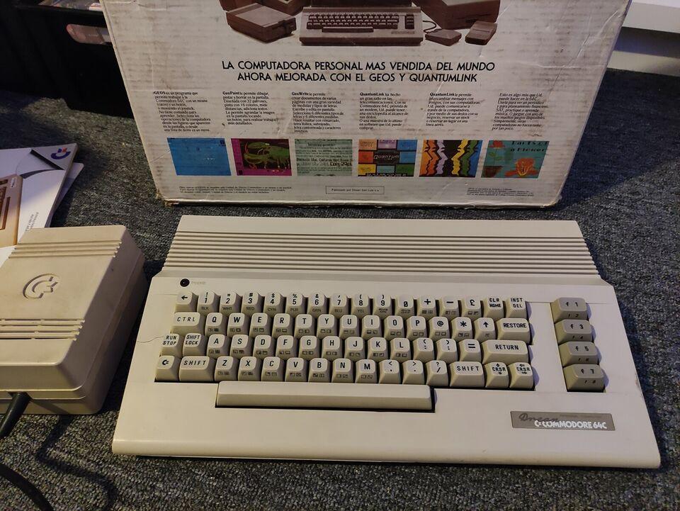 DREAN Commodore 64, spillekonsol, God