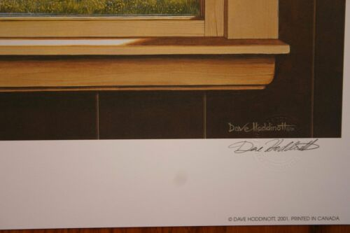The Window View Dave Hoddinott Signed /& Numbered Limited Collectors Edition
