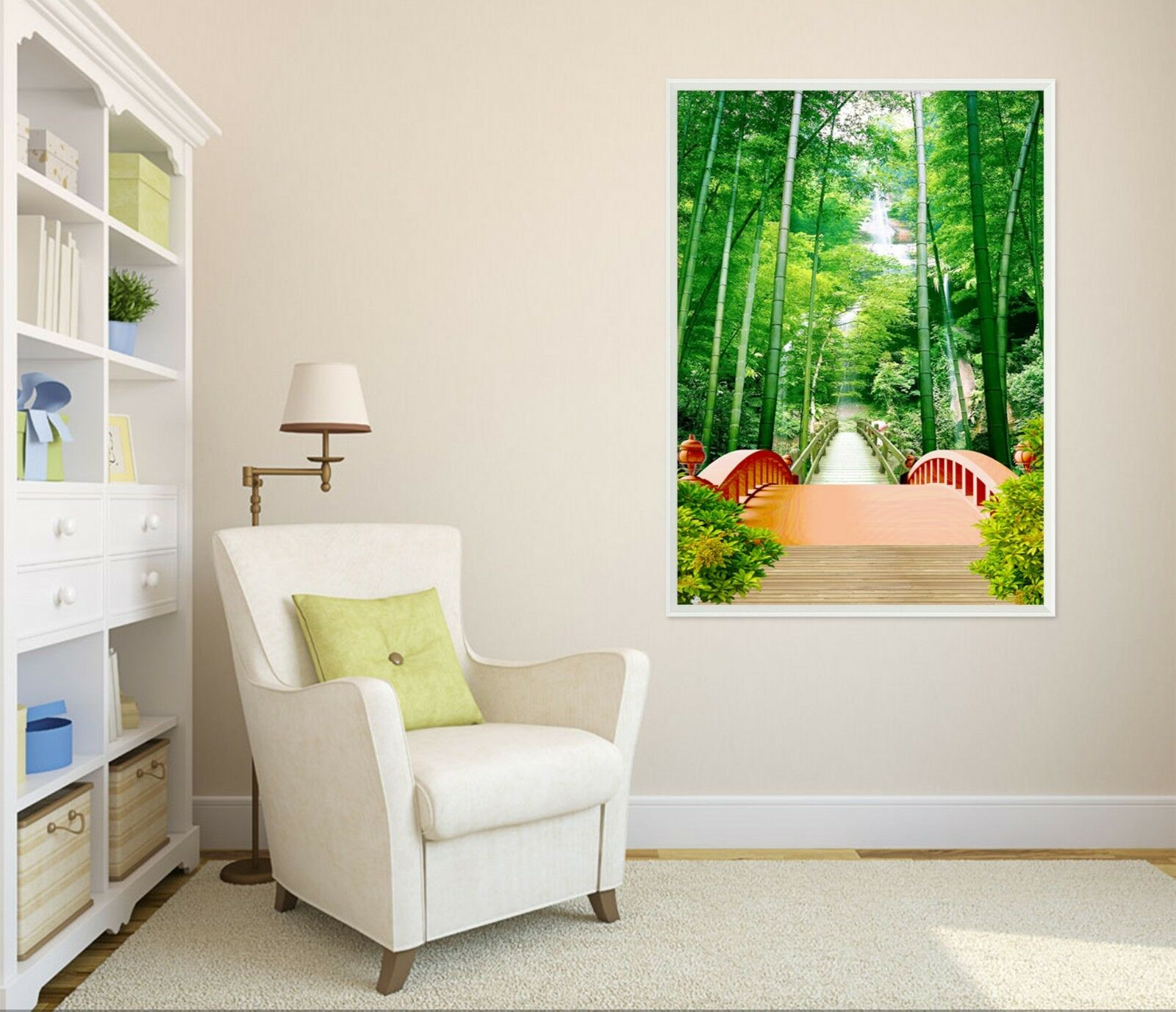 3D Bamboo Forest 6 Framed Poster Home Decor Print Painting Art AJ AU
