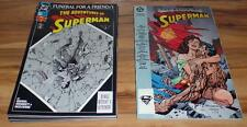 Superman: Funeral For A Friend #1-8 +The Death Of Superman(1993)