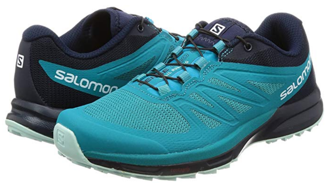 Salomon Salomon Salomon Sense Pro 2 Sz 7 M (B) EU 38 2 3 Trail Running shoes Enamel bluee 398502 c339d8