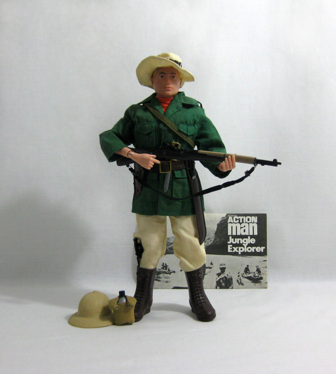 1969 Vintage Action Man ✧ Jungle Explorer ✧ Palitoy Hasbro G.I JOE