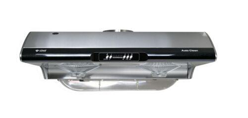 Chef C395 Under Cabinet Range Hood Water Cleaning 6 Speeds 750 CFM