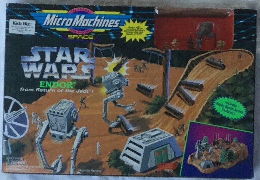 Mikromaskiner i Stjärnornas krig Endor Spela ställ in objekt nr 65873