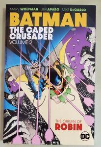 BATMAN THE CAPED CRUSADER vol 2 NEW UNREAD RARE OOP TP TPB GN graphic novel DC