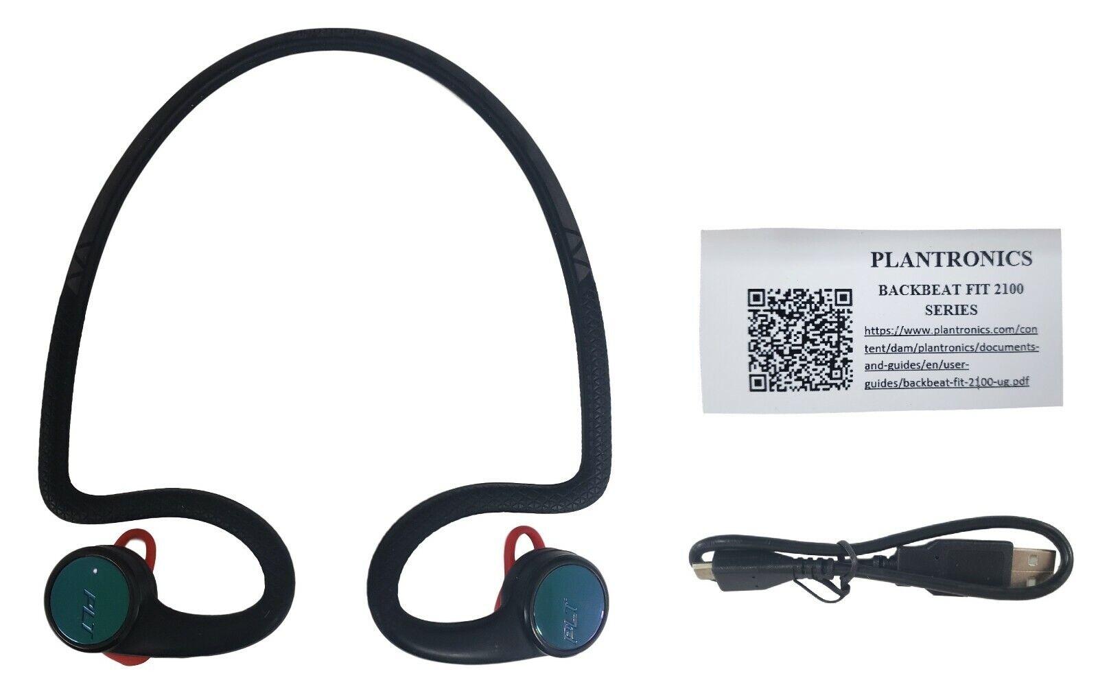 Plantronics Backbeat Fit Stereo Wireless Bluetooth Headphones For Sale Online Ebay