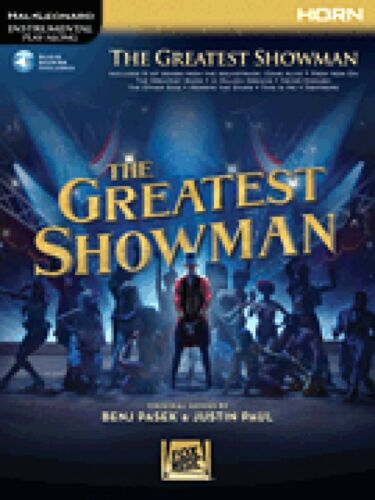 The Greatest Showman Instrumental Play-Along Series for Horn NEW 000277394
